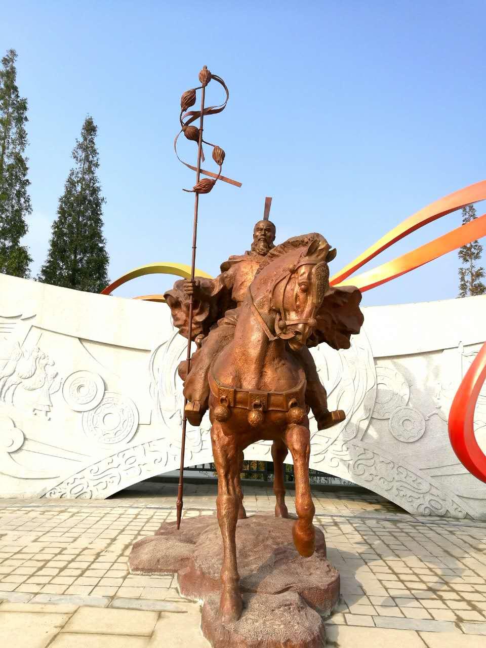汉中天汉文化公园景观绿化工程